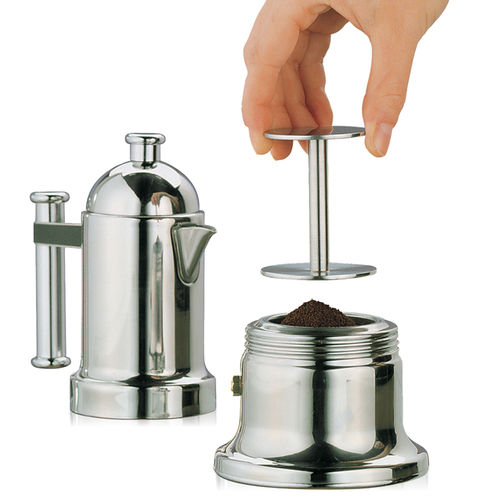 cilio - Espresso stamp with 2 Stamps - stainless steel