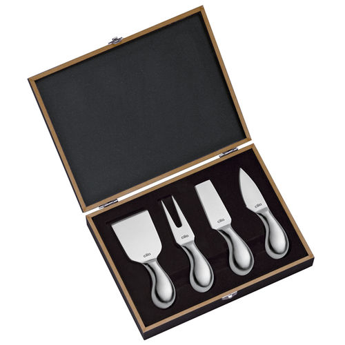 "cilio - Cheese knife set ""Piave"" 4-piece"
